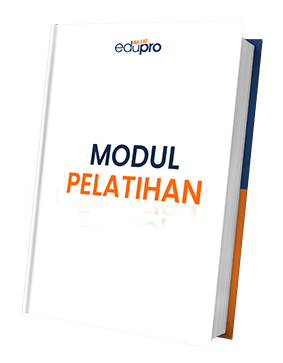 Modul pelatihan  (senilai Rp 150.000) Modul PDF 50 halaman, Anda dapat pelajari konsep dan pengetahuan yang menyeluruh.